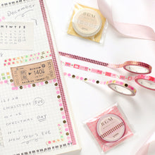 Load image into Gallery viewer, BGM Pink And Polka Dots Washi Tape
