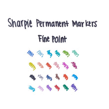 Load image into Gallery viewer, Sharpie® Fine Permanent Markers