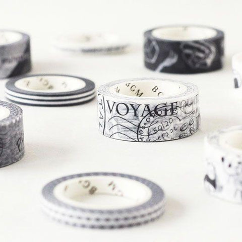 BGM Piano Keys Washi Tape - Cityluxe