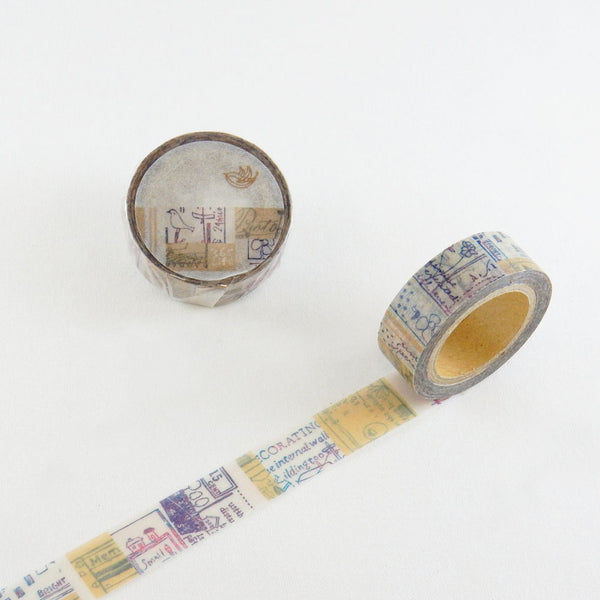 Round Top x ChamilGarden Sandglass Washi Tape