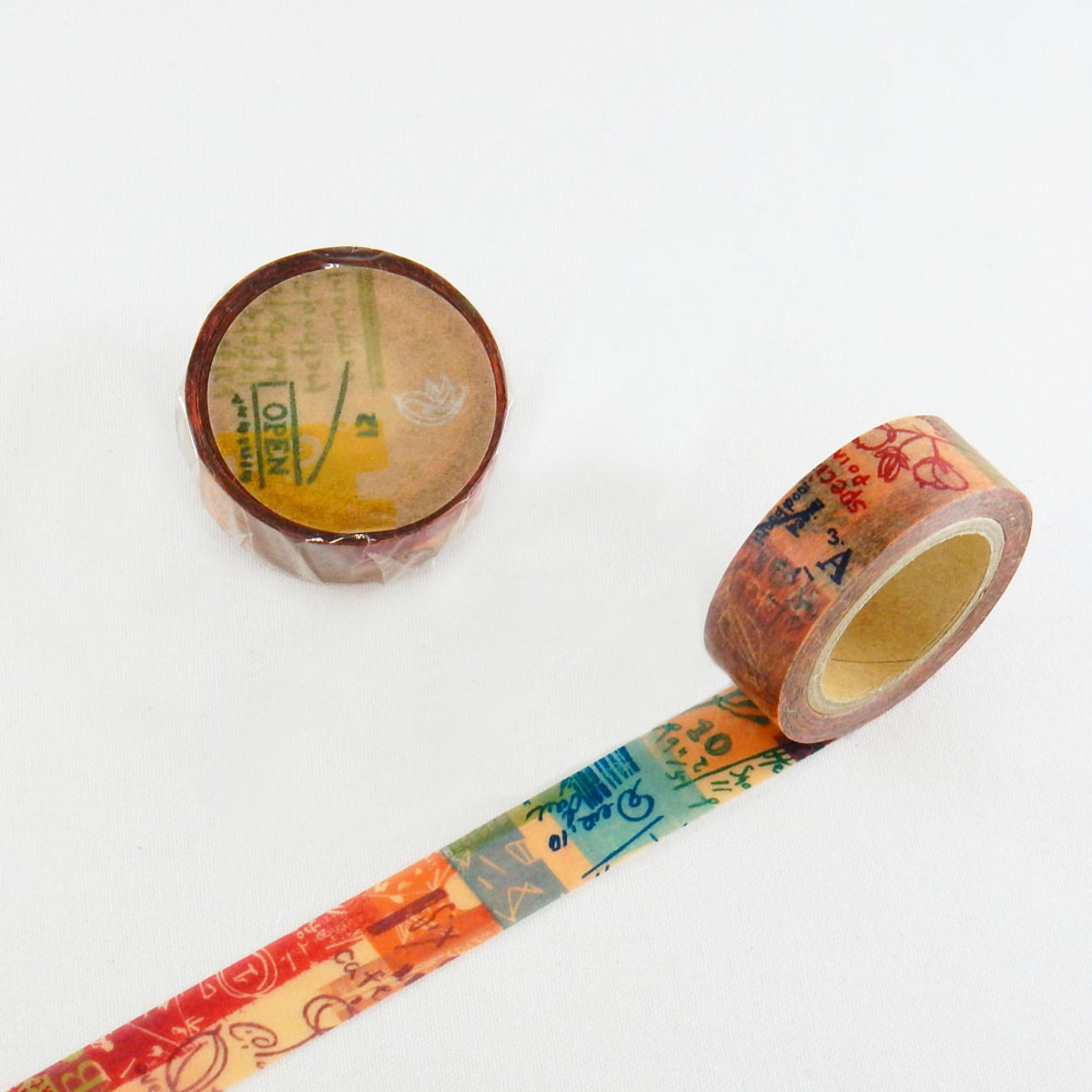 Round Top x ChamilGarden Fragrance Washi Tape