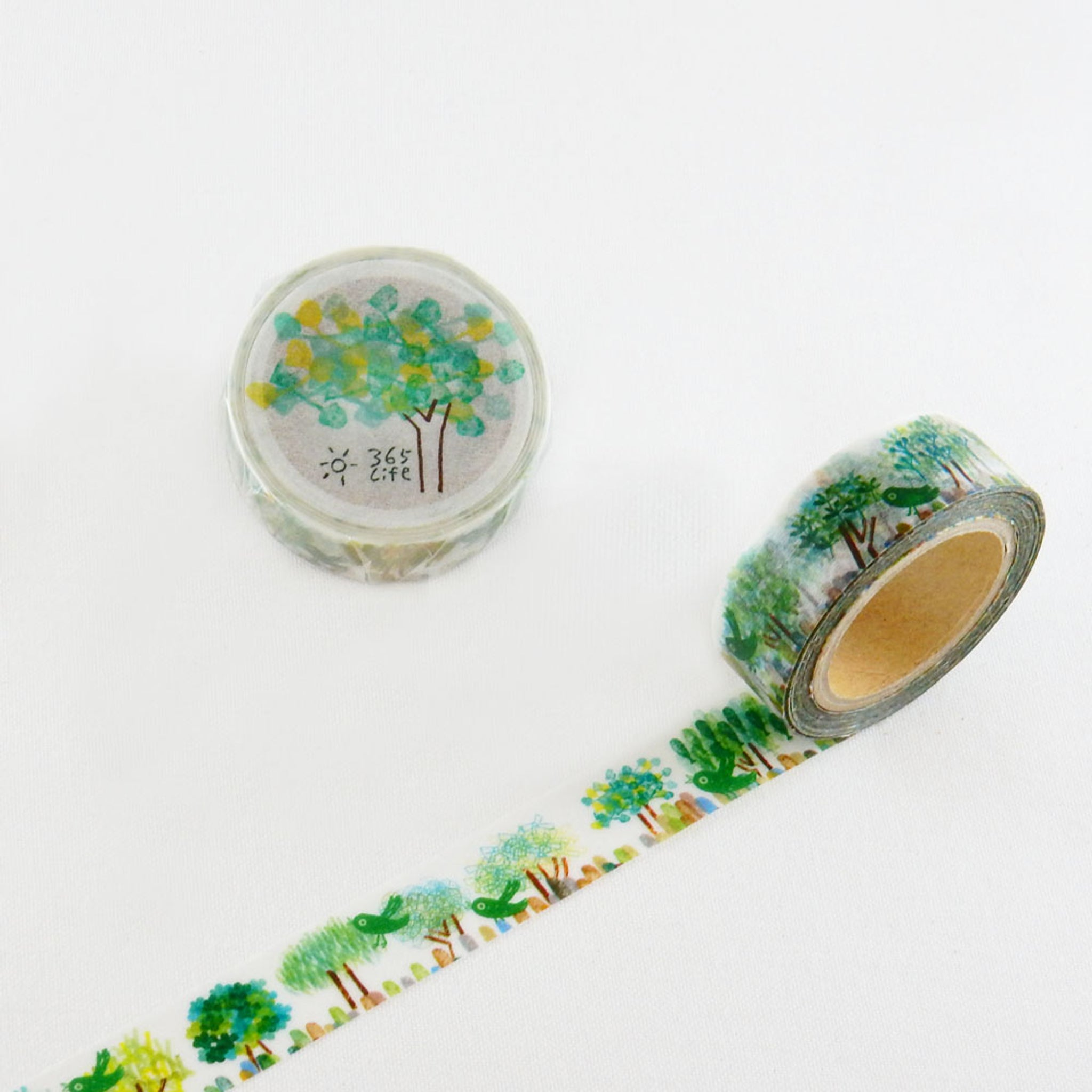 Round Top x ChamilGarden Love Tree Washi Tape
