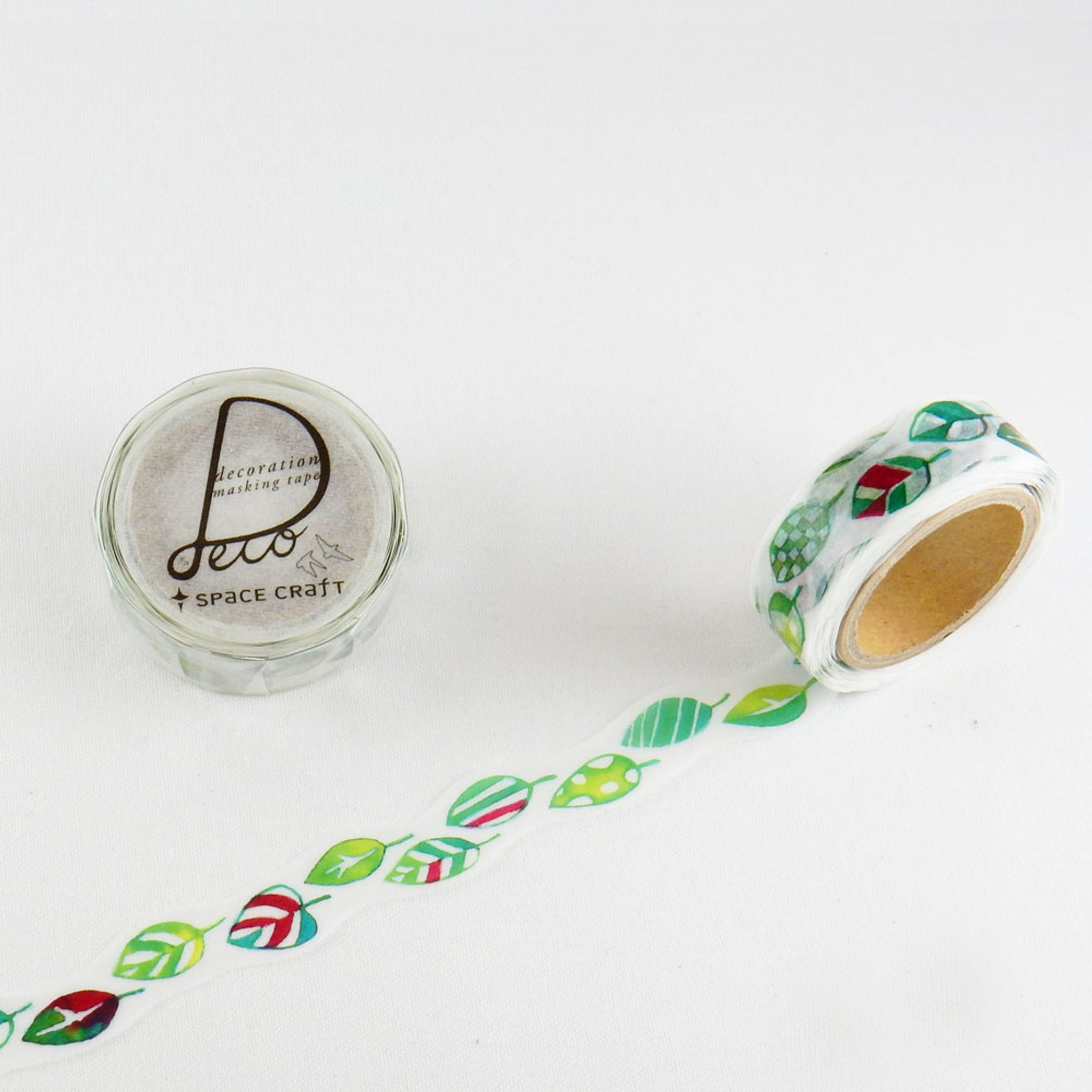 Round Top x Space Craft Washi Tape Leaf