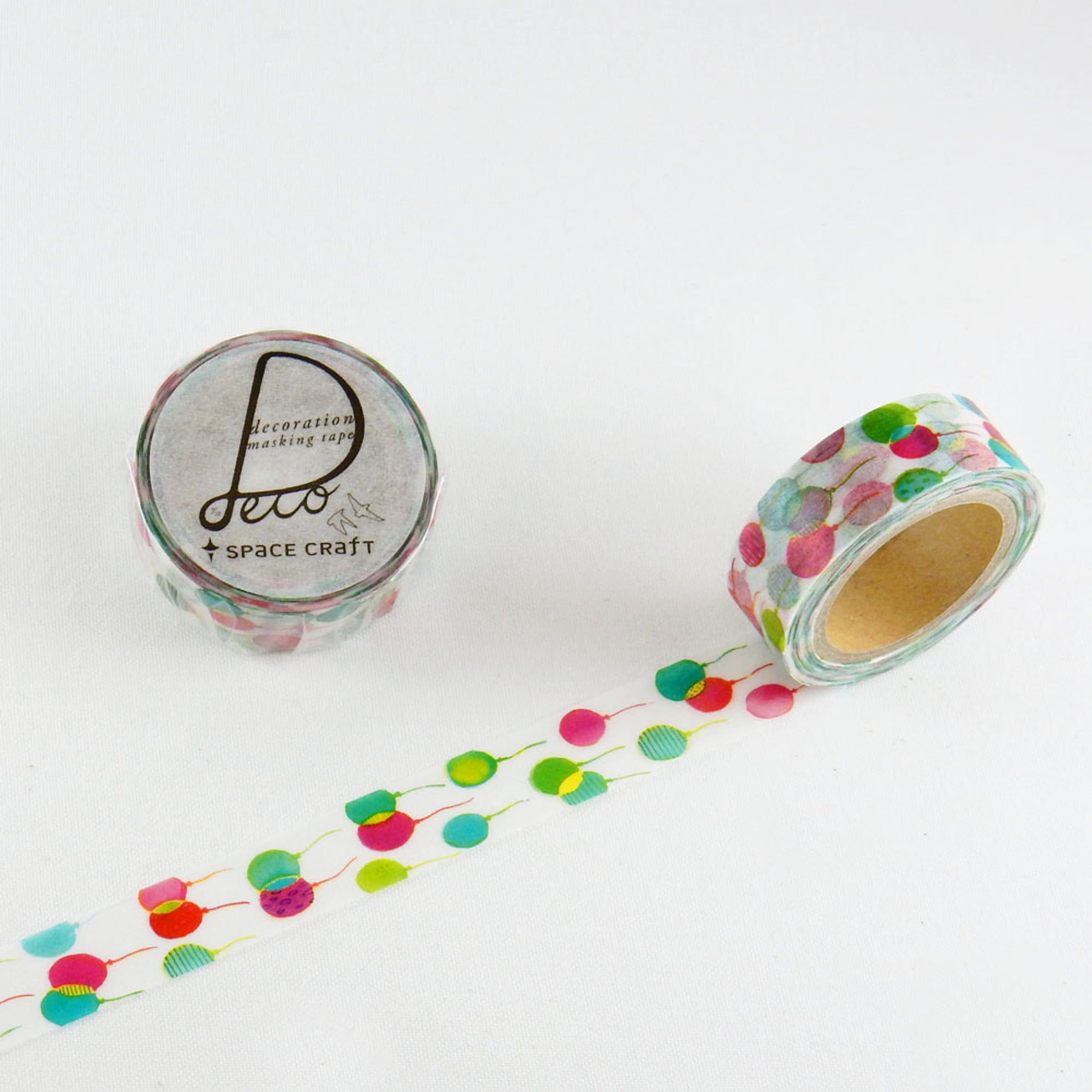 Round Top x Space Craft Washi Tape Baloons