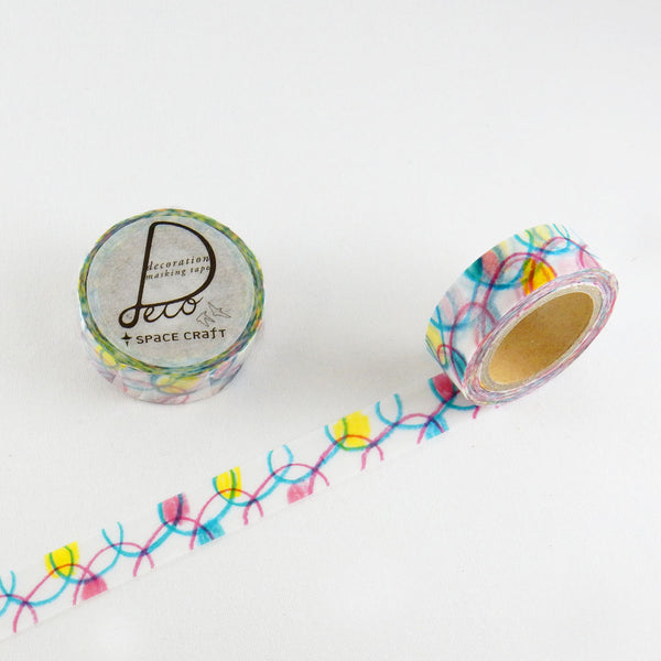 Round Top x Space Craft Washi Tape Kurukuru