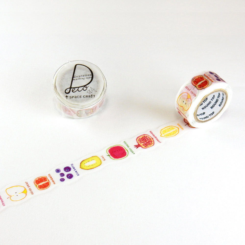 Round Top x Space Craft Washi Tape Fruits (SC-MK-036