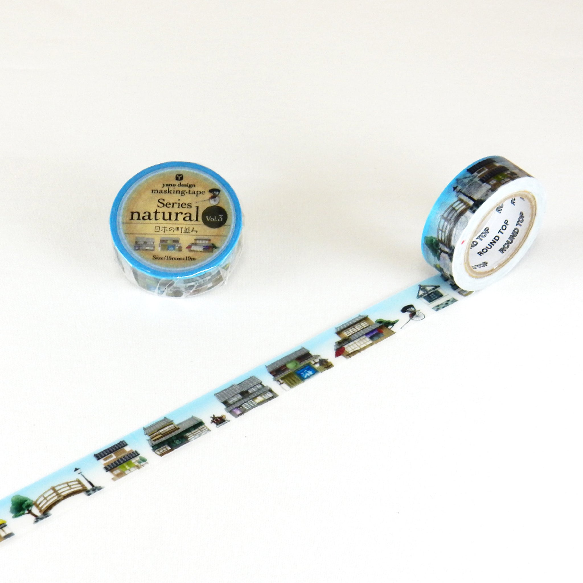 Round Top x Yano Design streets of Japan washi tape