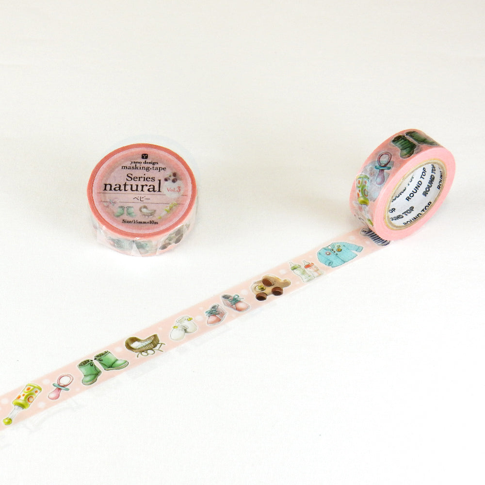Round Top x Yano Design baby washi tape (YD-MK-071