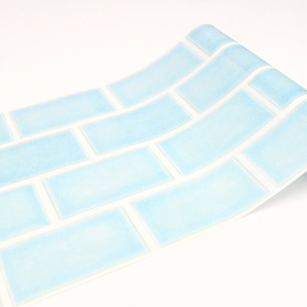 MT Casa Fleece 230mm (5m Length) Tile Blue