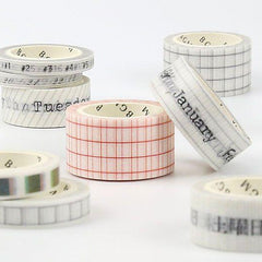 BGM Week Washi Tape