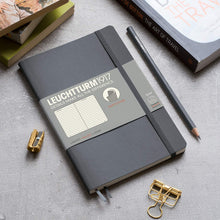 Load image into Gallery viewer, Leuchtturm1917 Softcover B6 Notebook Black - Dotted
