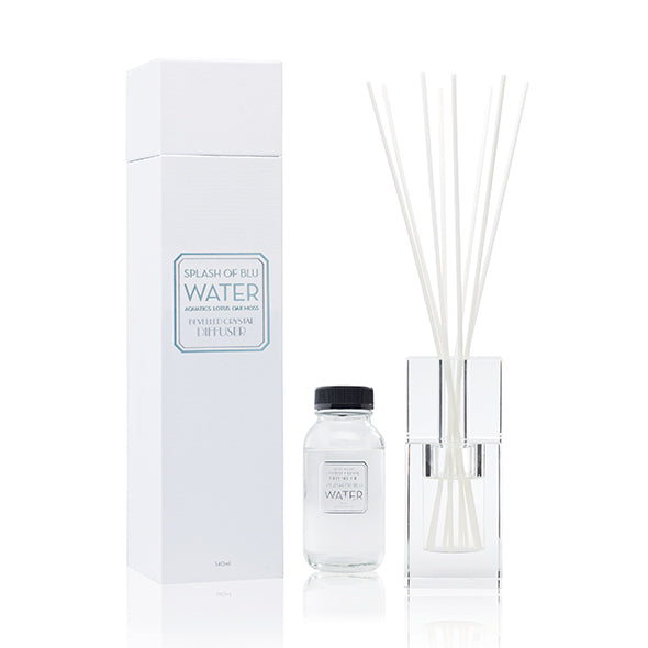 Abode Aroma Crystal Diffuser Splash Of Blue - Cityluxe
