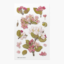Load image into Gallery viewer, Appree Pressed Flower Sticker Apple Blossom