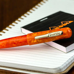 Conklin All American Rollerball Pen Sunburst Orange