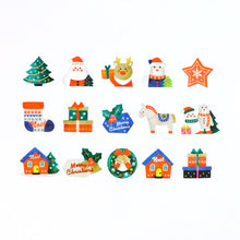 Load image into Gallery viewer, Bande Christmas Ornaments (B) Washi Roll Sticker