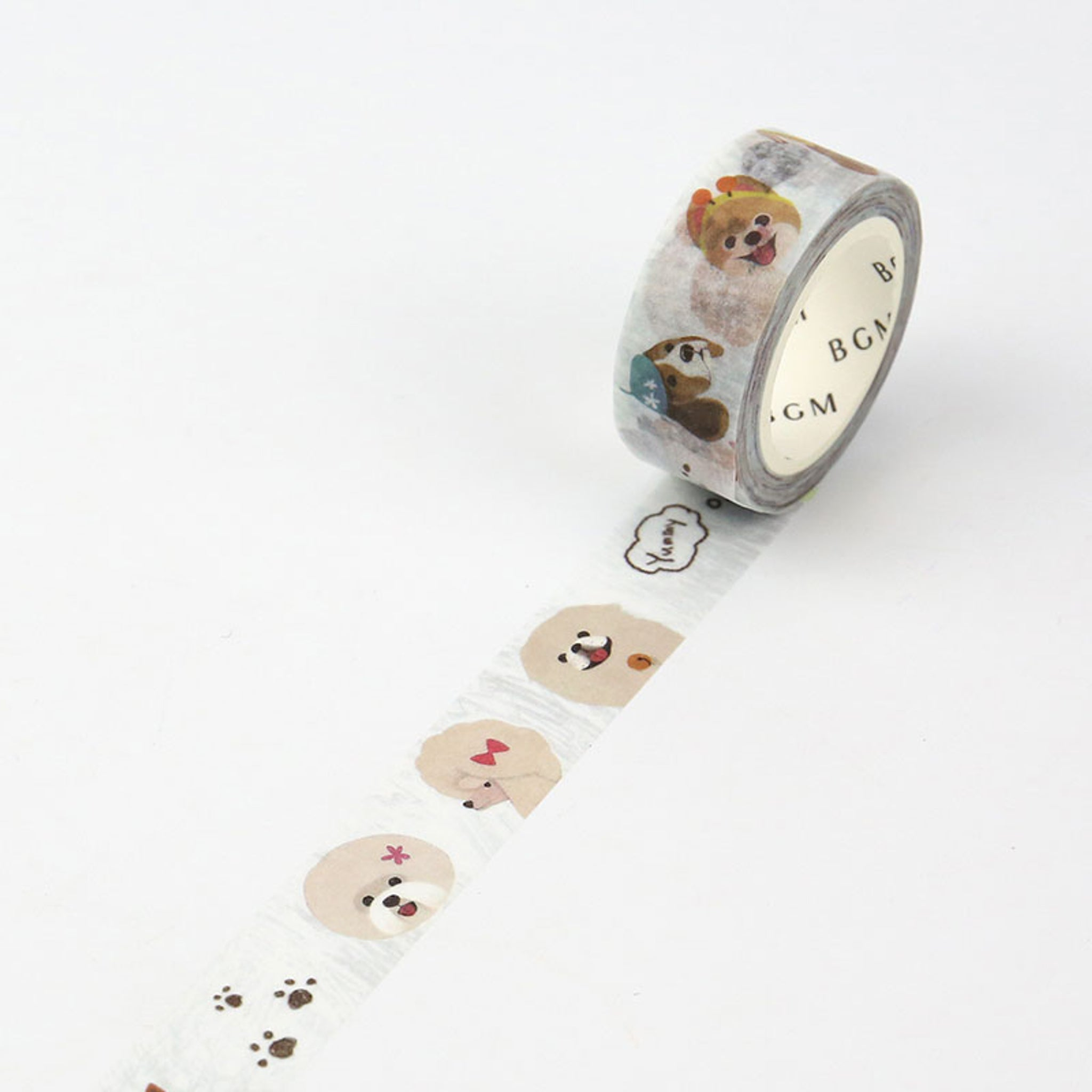 BGM Puppy Washi Tape