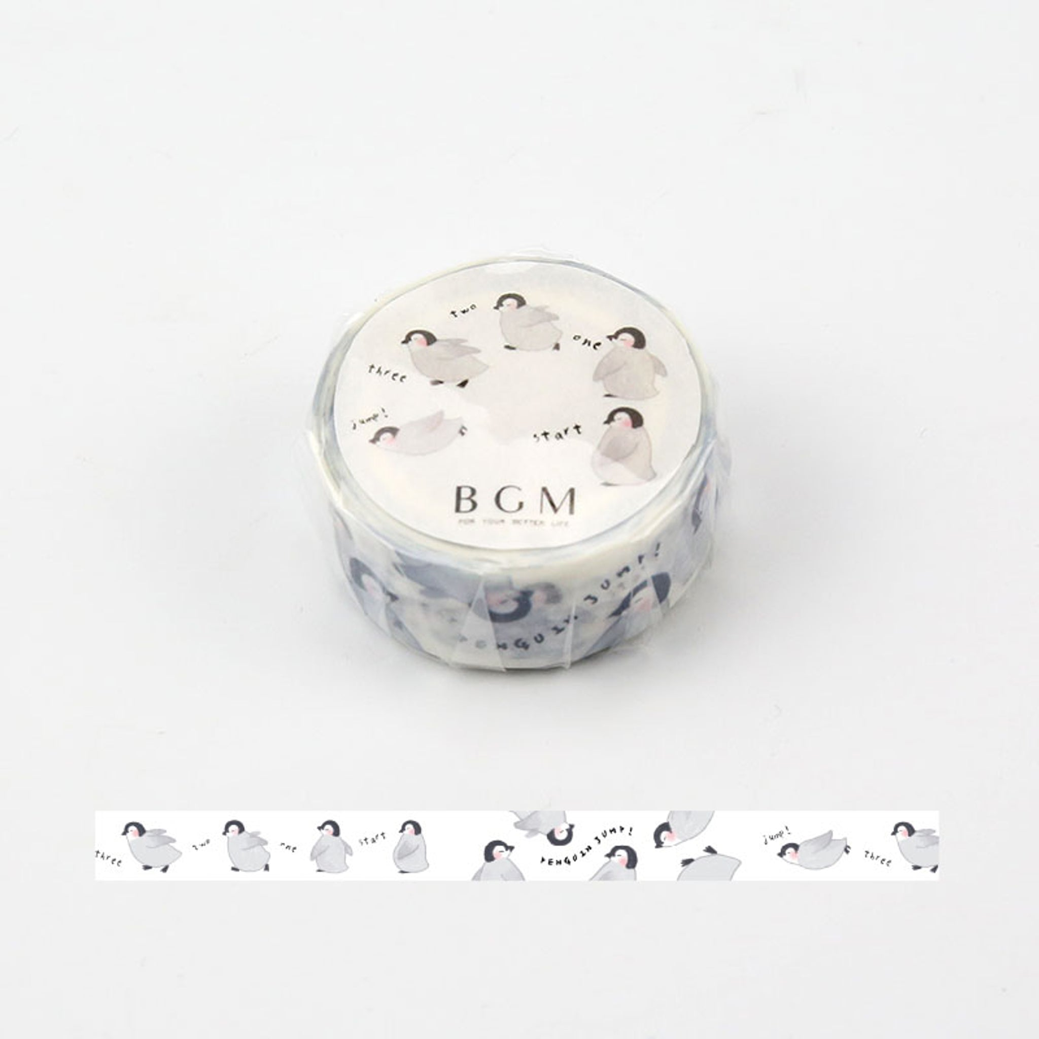 BGM Penguin Washi Tape