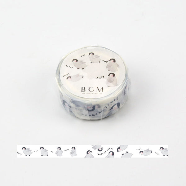 BGM Penguin Washi Tape - Cityluxe