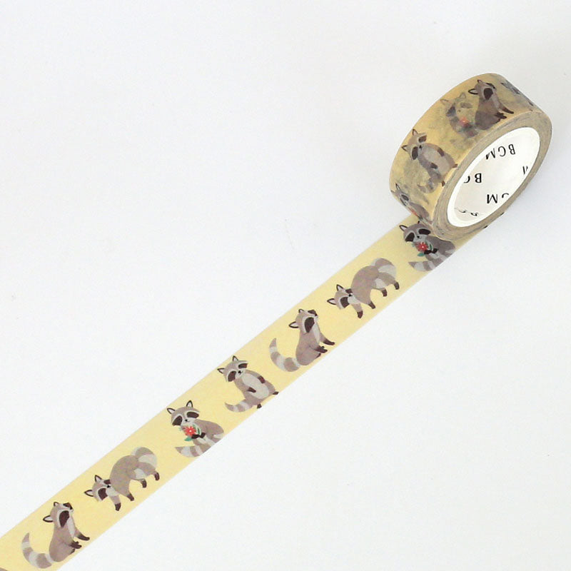 BGM Raccoon Washi Tape - Cityluxe
