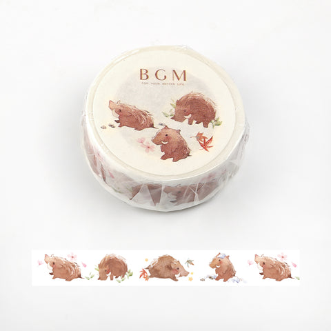 BGM Boar Washi Tape