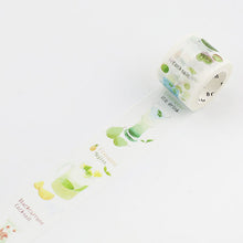 Load image into Gallery viewer, BGM Soft Drinks Green Washi Tape - Cityluxe