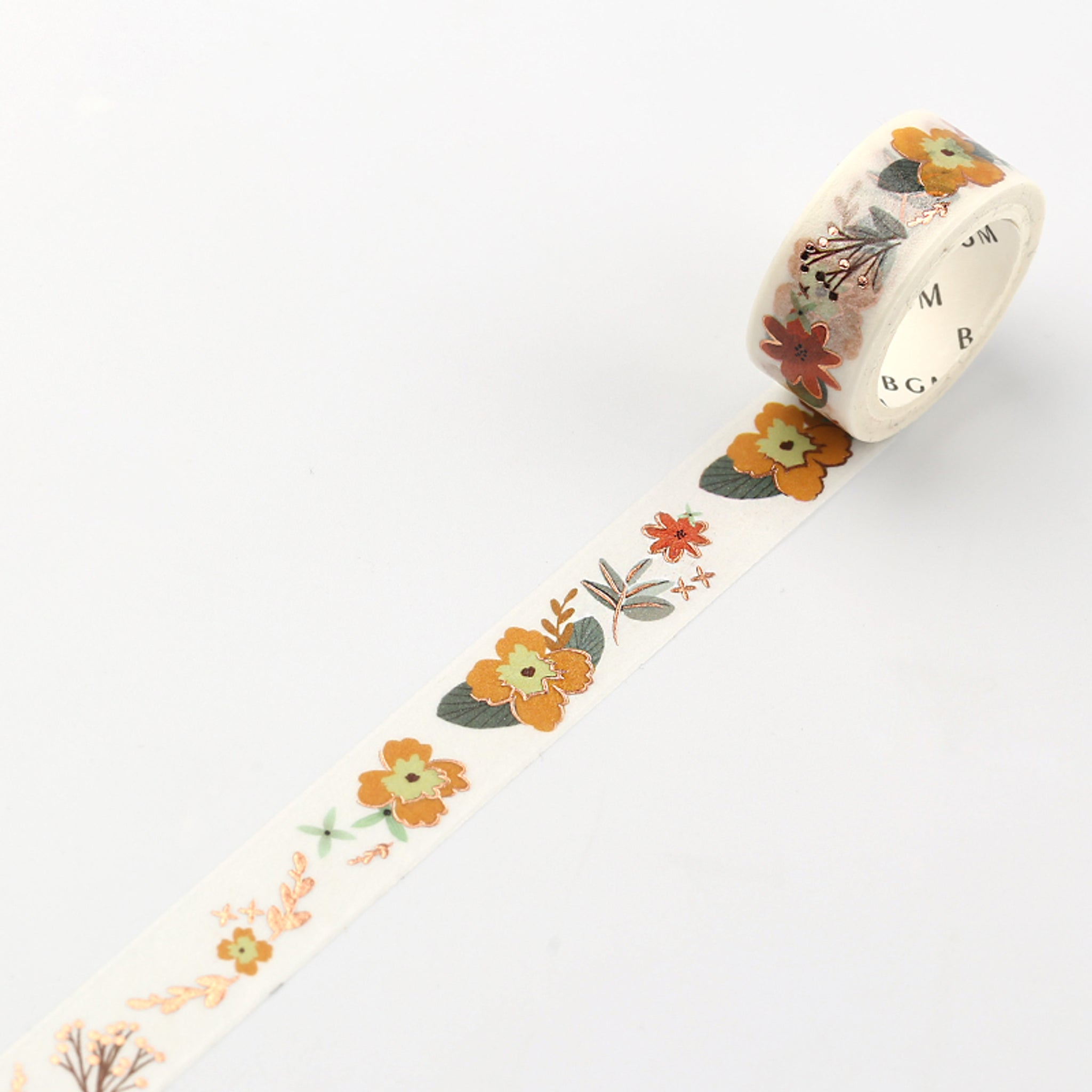 BGM Yellow Flower Washi Tape