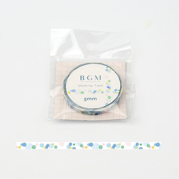 BGM Soap Bubble Washi Tape - Cityluxe