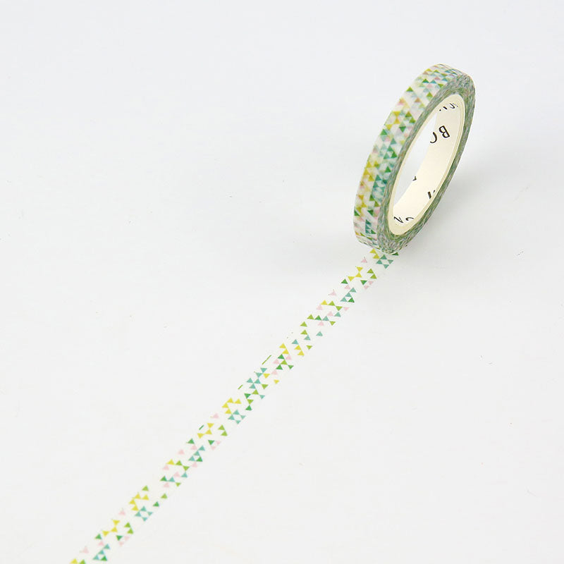 BGM Triangle Pattern Washi Tape - Cityluxe