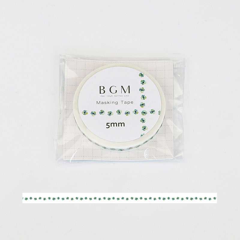 BGM Four-Leaf Washi Tape - Cityluxe