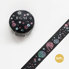 BGM Kayo/Flower Washi Tape