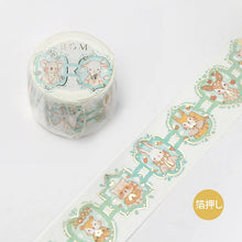 Load image into Gallery viewer, BGM Lace Animals Washi Tape