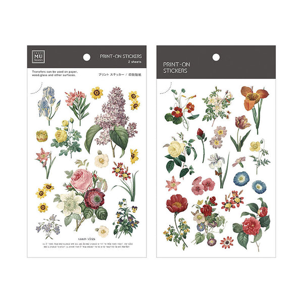 Mu Craft Print-On Sticker Summer Garden 046