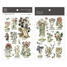 Load image into Gallery viewer, Mu Craft Print-On Sticker Fairies 062