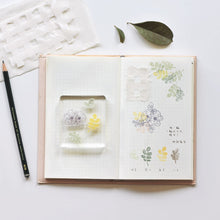 Load image into Gallery viewer, MU Craft Clear Splice Stamp Botanical 15