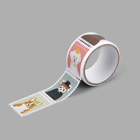 Dailylike Animal Stamp Masking Tape - Cityluxe