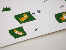 Load image into Gallery viewer, Dailylike Shiba Masking Tape - MOMOQO