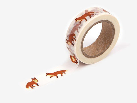 Dailylike Winter fox Masking Tape - MOMOQO
