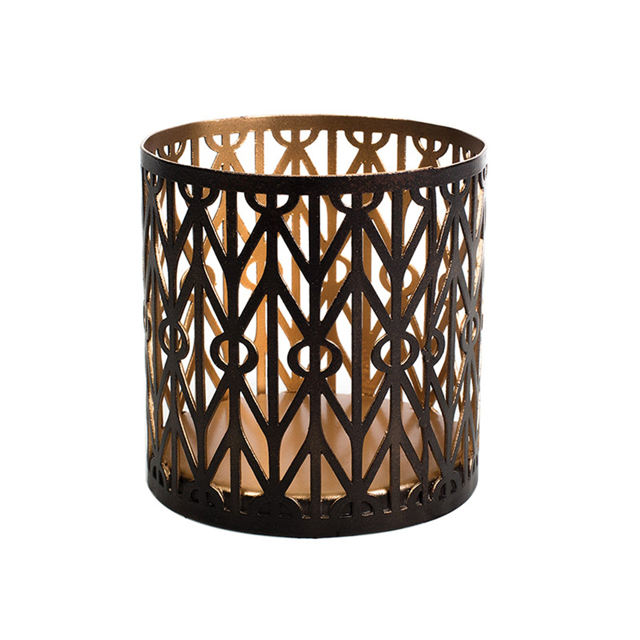 WoodWick Geometric Petite Candle Holder