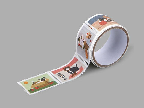 Dailylike Daily cats Stamp Masking Tape - Cityluxe