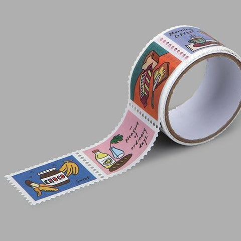 Dailylike Good morning Stamp Masking Tape - MOMOQO