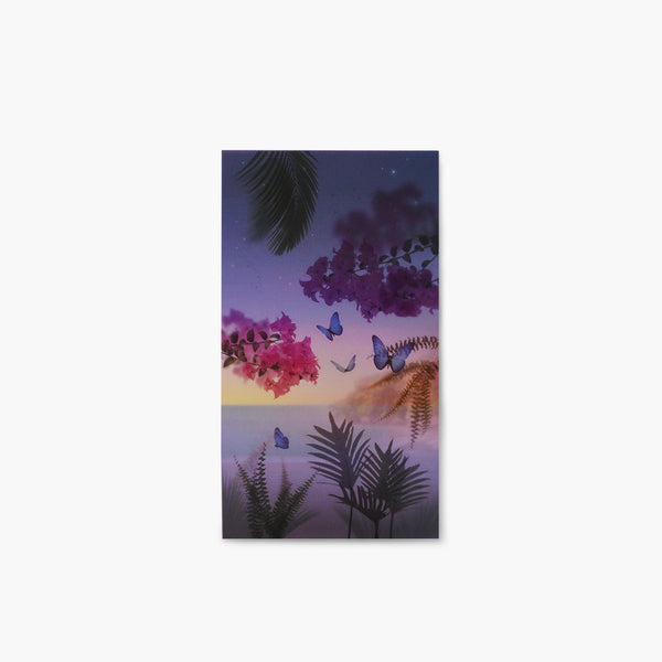Appree Nature Scene Sticker Tropical Night