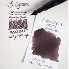 3 Oysters I.COLOR.U 38ml Ink Bottle Gogung