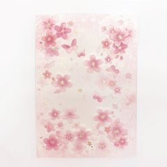 D'Won Card Butterfly Light Pink