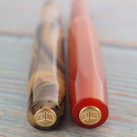 Kaweco Art Sport Fountain Pen Orange Limited Edition 2018 - MOMOQO