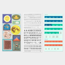 Load image into Gallery viewer, Traveler's Notebook Customized Sticker Set for Diary 2021