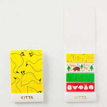 Load image into Gallery viewer, KITTA Washi Tape Animal