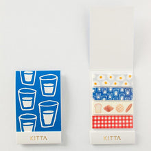 Load image into Gallery viewer, KITTA Washi Tape Breakfast