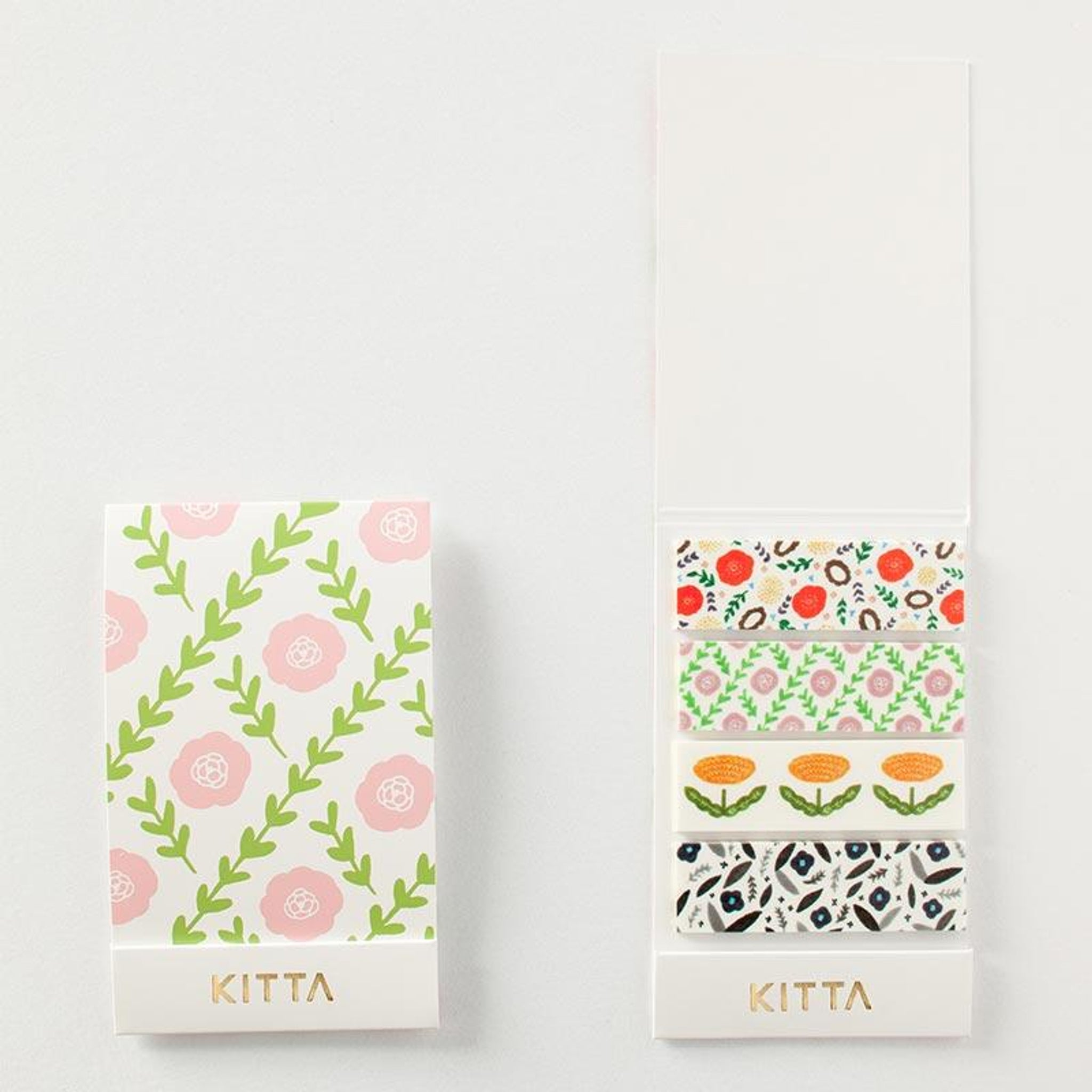 KITTA Washi Tape Flower 3