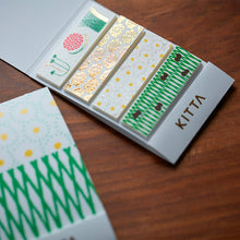 Load image into Gallery viewer, KITTA Limited Flower Washi Tape