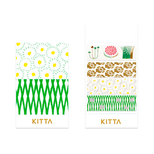 KITTA Limited Flower Washi Tape